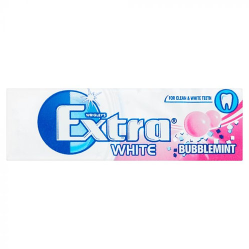 Extra White Bubblemint - Pack
