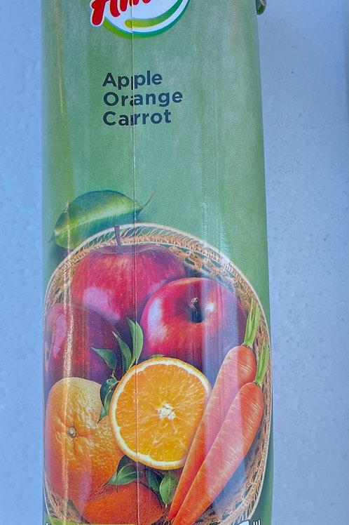 Amita Mix Apple, Orange, Carrot - 1L