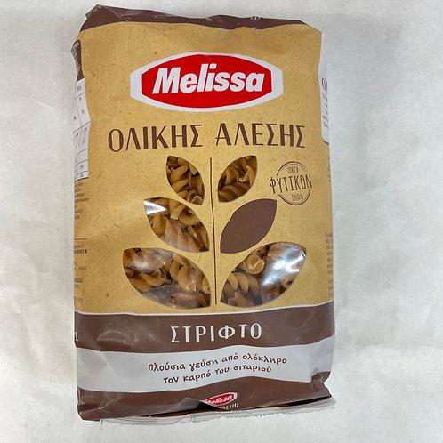 Melissa whole wheat Fusilli - 500gr