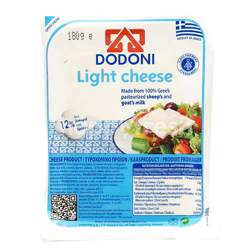 Dodoni Light Cheese - 180gr