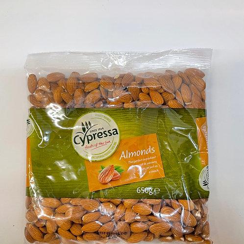Cypressa Almonds Plain - 650gr