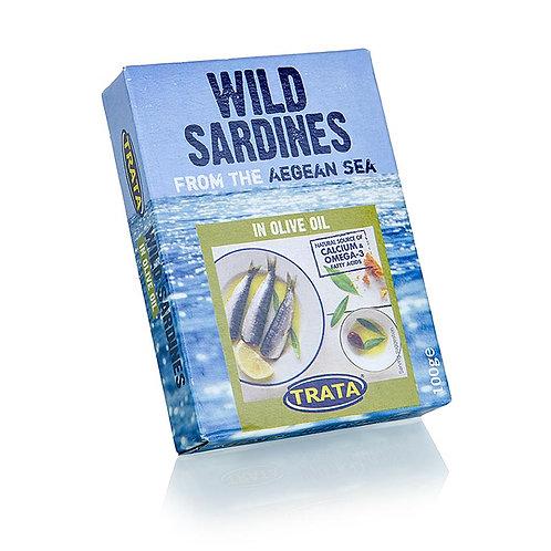 Trata Wild Sardines in Olive oil - 100gr