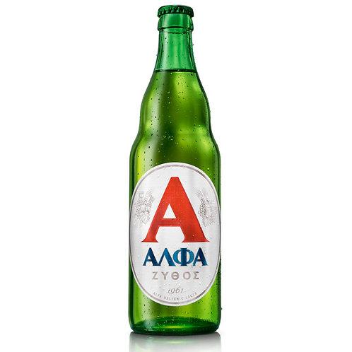 Alfa Greek Beer - 500ml