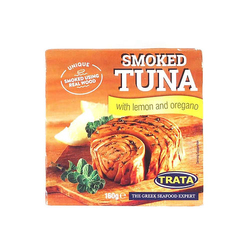 Trata Smoked Tuna lemon & oregano - 160gr