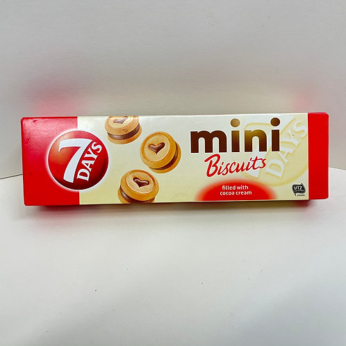 7Days Mini Biscuits cocoa - 100gr