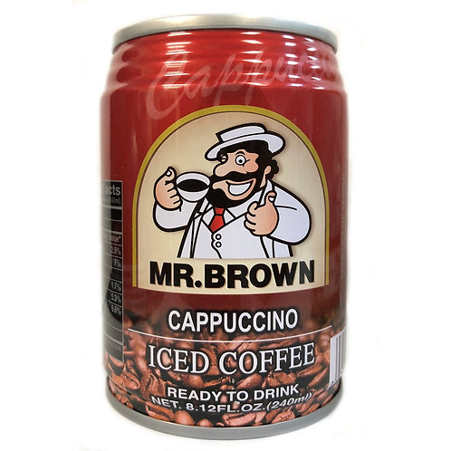 Mr. Brown Cappuccino - 240ml