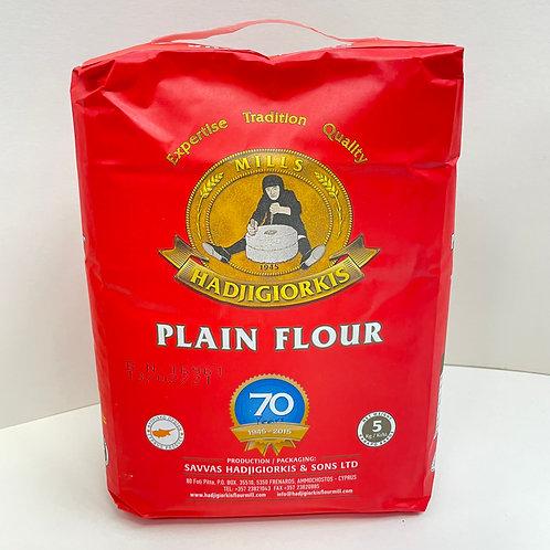 HadjiGiorkis Plain Flour - 5kg