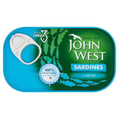 John West Sardines in Brine - 120gr