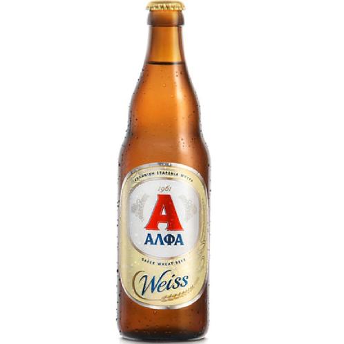Alfa Weiss Greek Beer 500ml