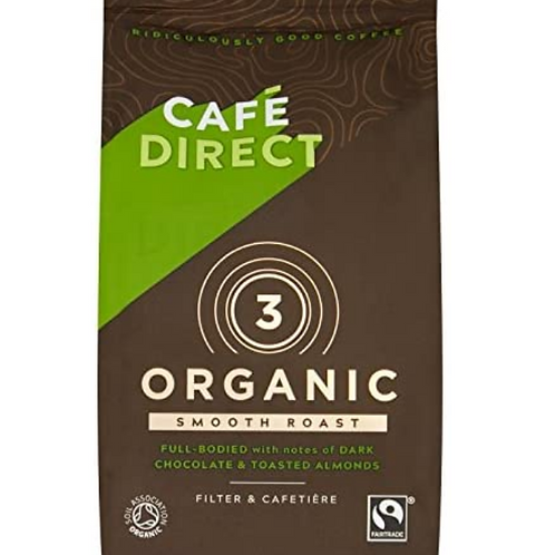 Cafe Direct 3 Organic Smooth Roast - 227gr