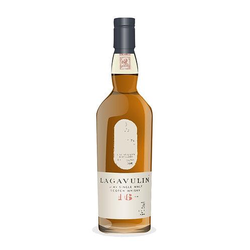 Lagavulin 16Year Malt Whisky - 200ml