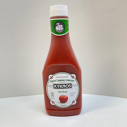 Kyknos Sqzy Ketchup Plastic - 560gr