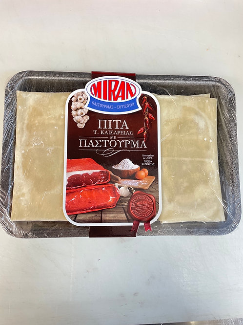 Miran Pastries with Beef Pastourma