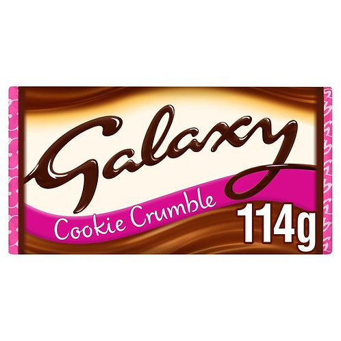 Galaxy cookie crumble 114 gr
