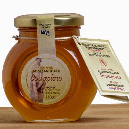 Dodekanisiako GR Thyme Honey 250gr