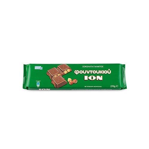 ION Milk chocolate with hazelnuts - 270gr