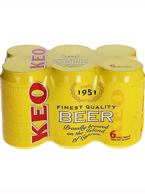 Keo Beer 330ml cans Pack of 6