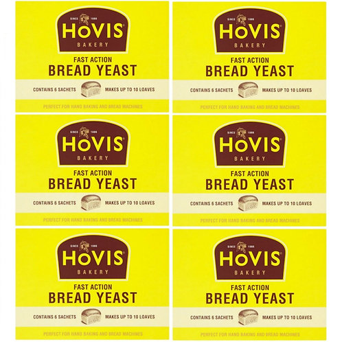 Hovis Yeast 6x7gr - 42gr