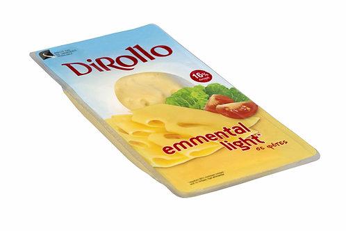 Dirollo Emmental light slices - 175gr