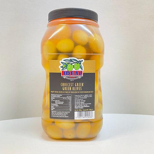 Ideal Green Olives super colossal - 2.05kg