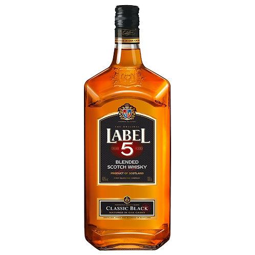 Label 5 Blended Whisky - 1L