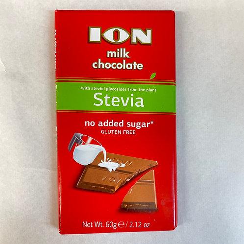 ION Stevia milk chocolate - 60gr
