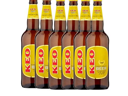 Keo beer 630ml box-6