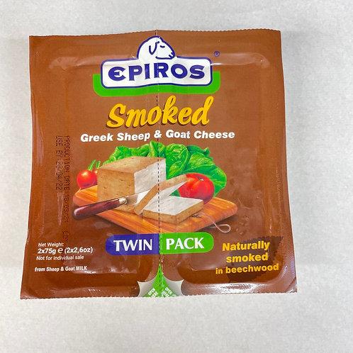 Epiros Smoked Greek Cheese Twin pack - 150gr
