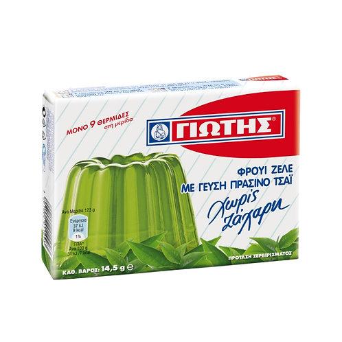 Jotis Jelly sugarfree Green Tea - 14gr