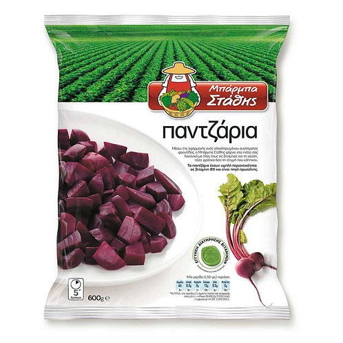 Barba Stathis Beetroots - 600gr