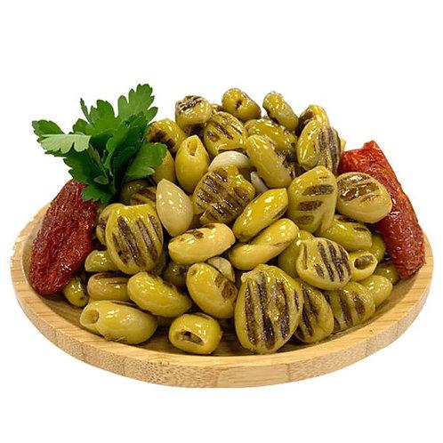 Green Grilled Olives - per kg