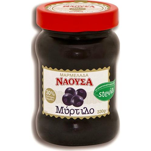 Naoussa Blueberry Jam Stevia 330gr