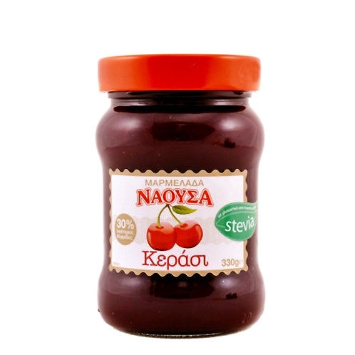 Naoussa Cherry Jam Stevia 330gr