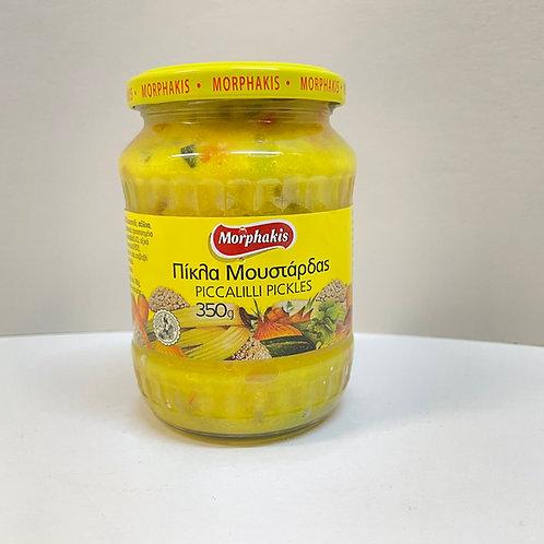 Morphakis Piccalilli Pickles - 350gr