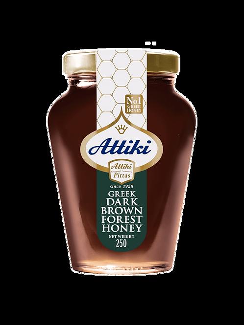 Attiki Dark brown forest honey - 500gr