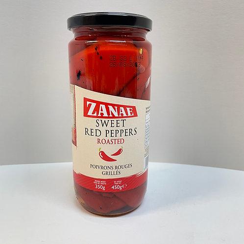 Zanae Sweet red peppers jar - 450gr