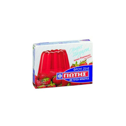 Jotis Jelly Light Strawberry - 14gr