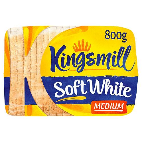 Kingsmill White Toast Medium - 800gr