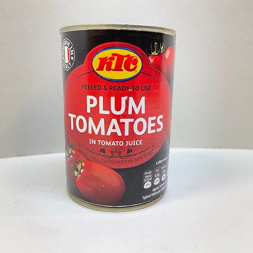 KTC Plum Tomatoes - 400gr