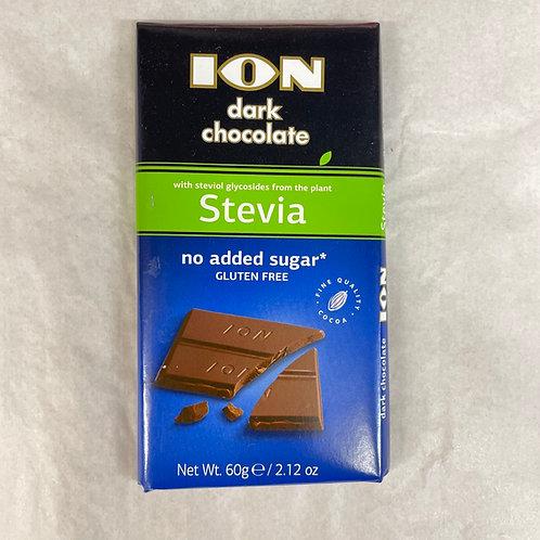 ION Stevia Dark chocolate - 60gr