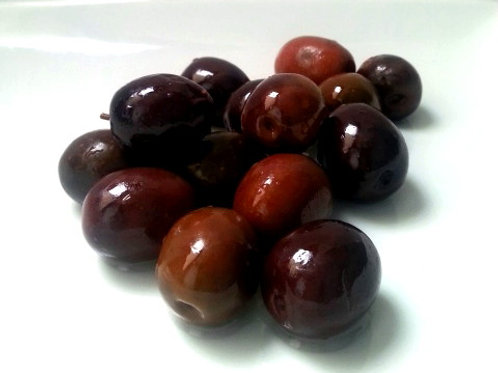 Black Mammoth Olives - per kg