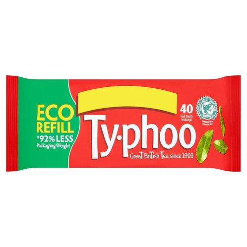 Ty-Phoo Eco Refill Tea - Pack-40