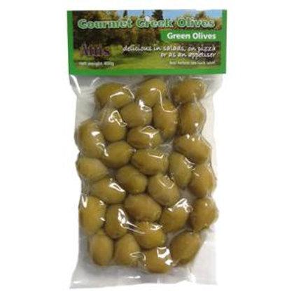 Attis Green Olives 454gr