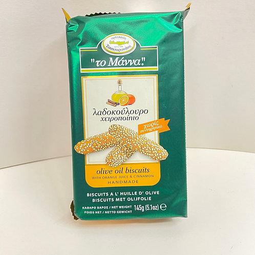 Manna Olive Oil Orange&Cinnamon biscuits - 145gr