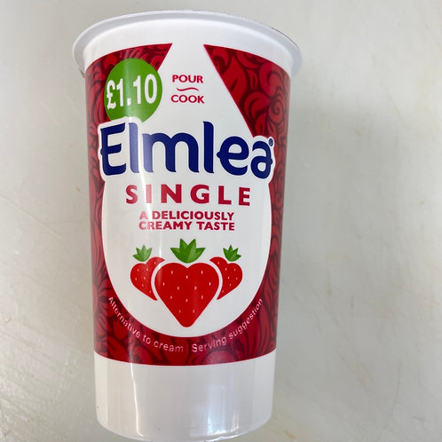Elmlea Single Cream - 270ml