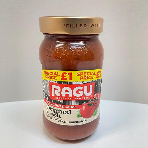 Ragu Orig. Smooth Bologn. Sauce - 375gr