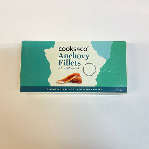 Cooks&Co Anchovy Fillets s/f oil - 50gr