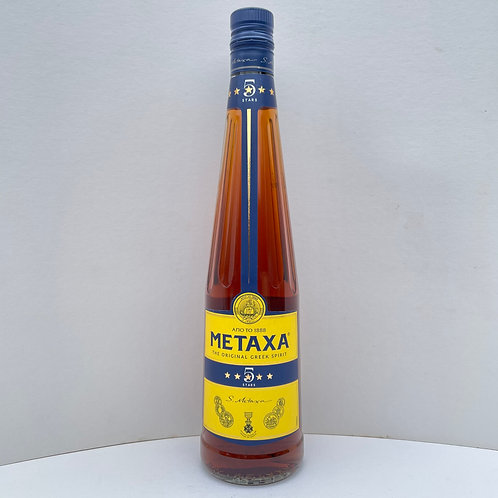 Cognac Metaxa 5* 700ml - 700ml