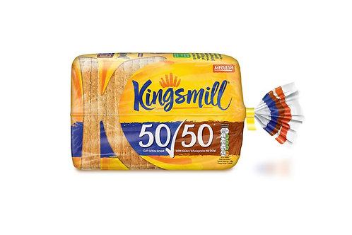 KingsMill 50-50 Bread Medium - 800gr