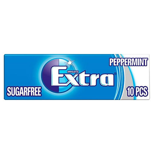 Extra Peppermint sugarfree 10s - 14gr